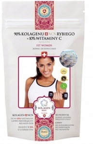 Kolagen NCN FIT WOMEN Naturalny Rybi collagen, 100g