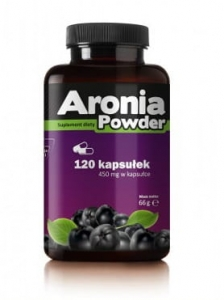 Aronia Powder 450 mg Pharmovit, 120 kapsułek
