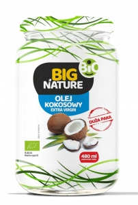 Olej kokosowy EKO BIO extra virgin Mix Brands, 480ml