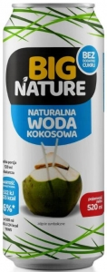 Big Nature naturalna Woda kokosowa, 520 ml
