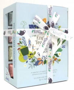 Herbaty angielskie Your Wellness Tea English Tea Shop, 12 Piramidek