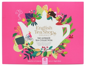 Zestaw herbat prezentowych The Ultimate Tea Collection English Tea Shop, 48 saszetek