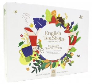 Zestaw herbat prezentowych Luxury Tea Collection English Tea Shop, 48 saszetek.