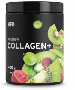 KFD Premium Collagen Plus kolagen smak kiwi-agrest,  400 g