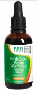 KOMPLEKS ORZECHA Fresh Green Walnut Now Foods, 60ml