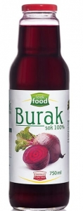 Sok z buraka 100 % burak Look Food, 750 ml